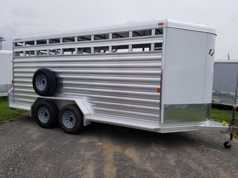 2018 Exiss Trailers STK 716 BP Stock Trailer