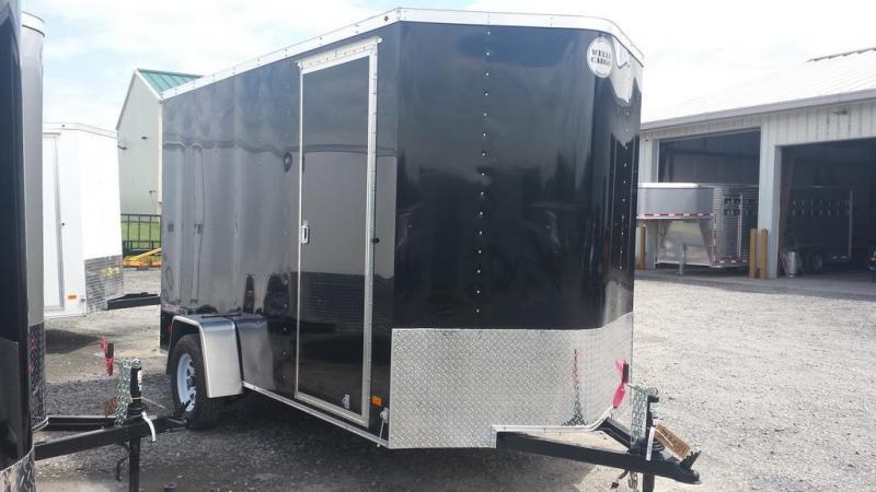 2016 Wells Cargo Fast Trac 6x12 Enclosed Cargo Trailer