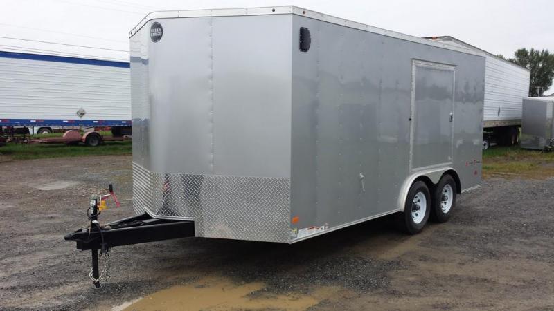 2017 Wells Cargo 8.5x16 Fast Trac Enclosed Cargo Trailer