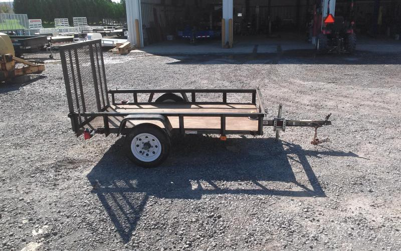 2009 Carry-On 4x7 Open 2K Utility Trailer
