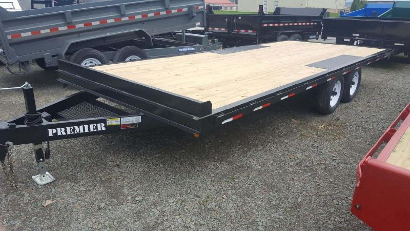 2019 Premier Trailers Inc. 20 10K Deck-Over Equipment Trailer