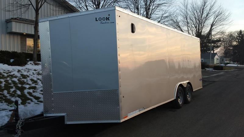 2019 Look Trailers 8.5x20 10K Cargo/Enclosed Trailer