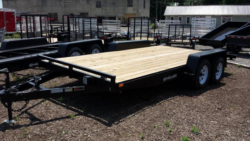 2018 Holmes 6-10x16 Wood Deck Car / Racing Trailer