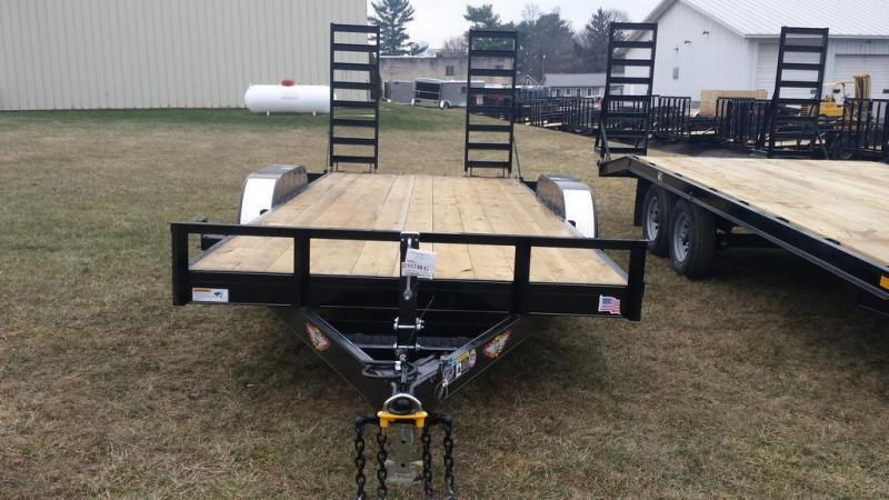 2016 H and H Trailer 7x18 Equipment Trailer