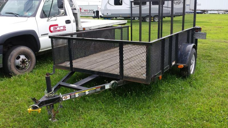 2005 Carry-On 6-4x10 mesh side Utility Trailer