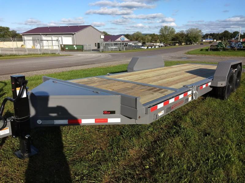 2018 Midsota 7x18+4 17.6K tilt deck Equipment Trailer