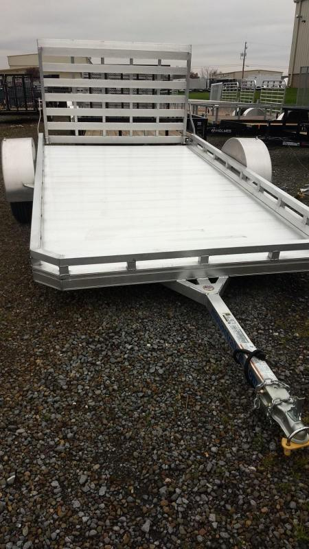 2019 Mission 6.5x12 FA All Aluminum Utility Trailer