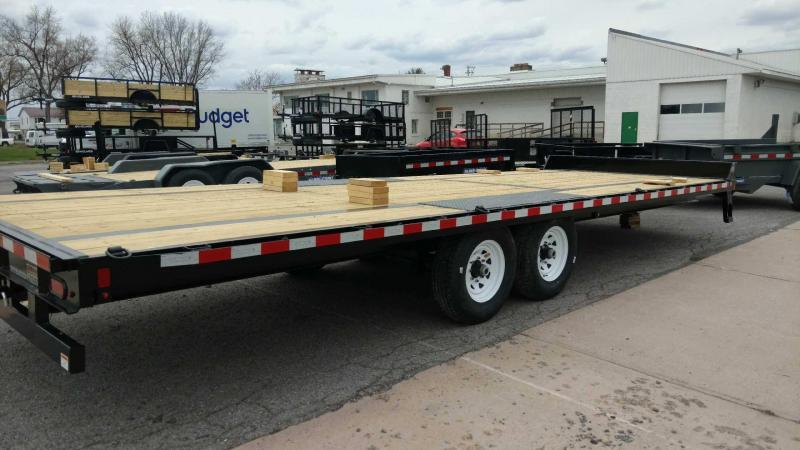 2018 Sure-Trac 8.5x24 15K Deck-Over Equipment Trailer