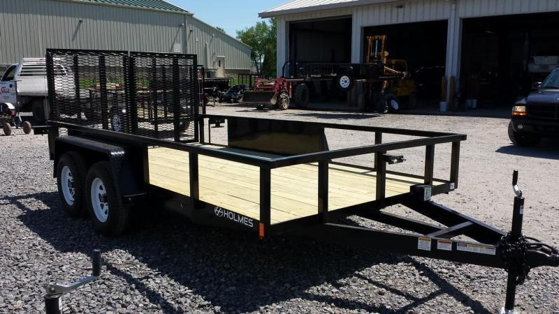 2018 Holmes 6-10x14 7K Commercial Landscapers Utility Trailer