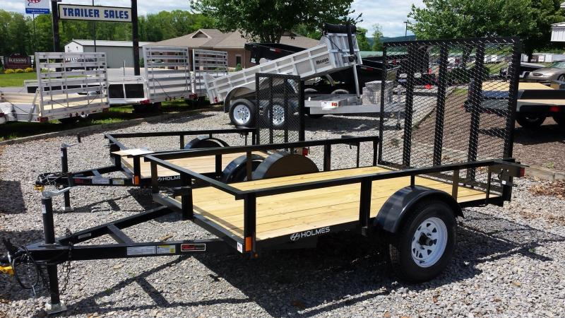 2014 Clearance! Save $56 - Holmes residential 5x8 utility trailer -LED -open rail -2k
