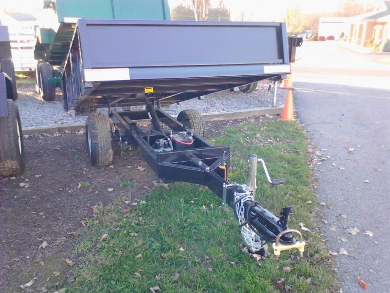 2016 Sure-Trac 4.5x8 utility 3.5k Dump Trailer