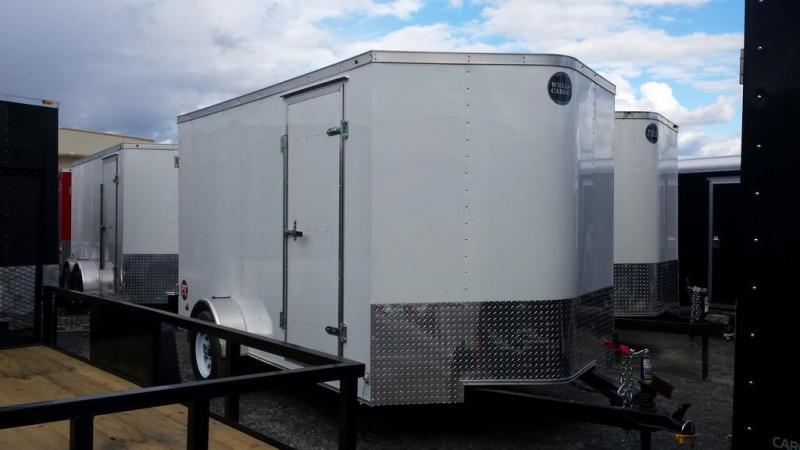 2017 Wells Cargo Fast Trac 7x12 3.5k Cargo / Enclosed Trailer
