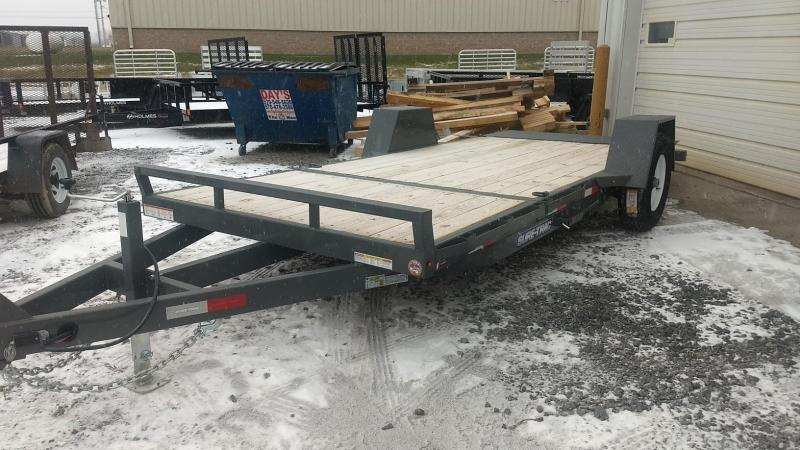 2019 Sure-Trac 6.5x12+4 tilt deck equipment trailer