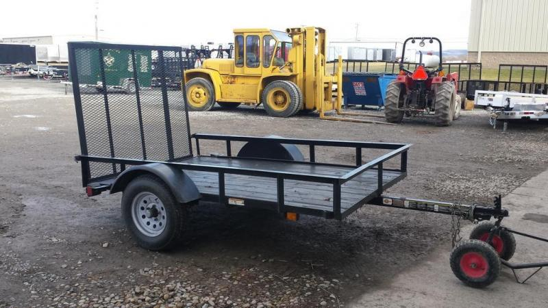 2013 Carry-On 5x8 Wood Deck Utility Trailer