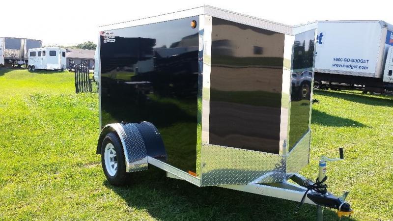 2015 Legend Manufacturing 5x9 enclosed trailer -LED -bonded sides - ramp