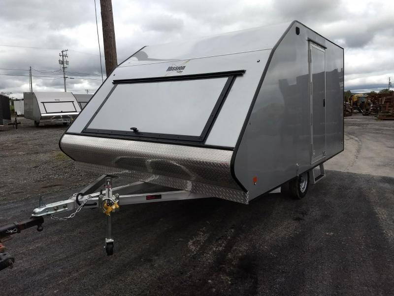 2019 Mission 101x12 Crossover Snowmobile Trailer