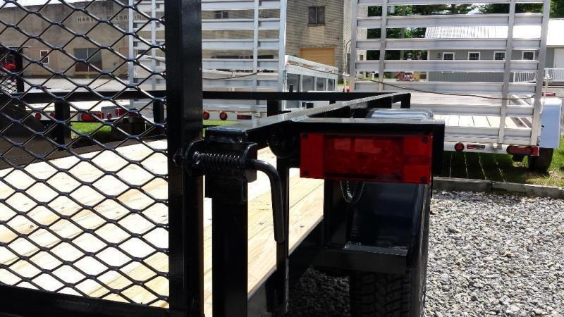 2016 Holmes 5x8 Rail Utility Trailer