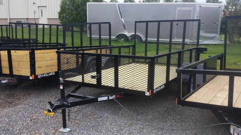 2018 Holmes 6-4x12 Mesh Side Utility Trailer