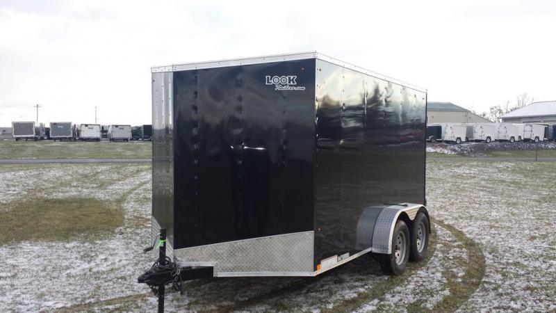 2017 Look Trailers 7x12 DLX-ST Enclosed Cargo Trailer