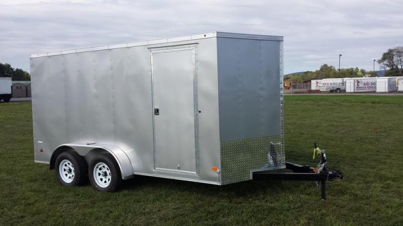 2017 Wells Cargo 7x14 Cargo Trac Enclosed Cargo Trailer