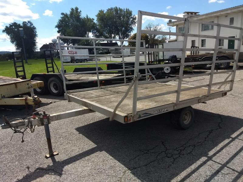 "2005 Triton Dual Side Load 80""x101"" ATV Trailer"