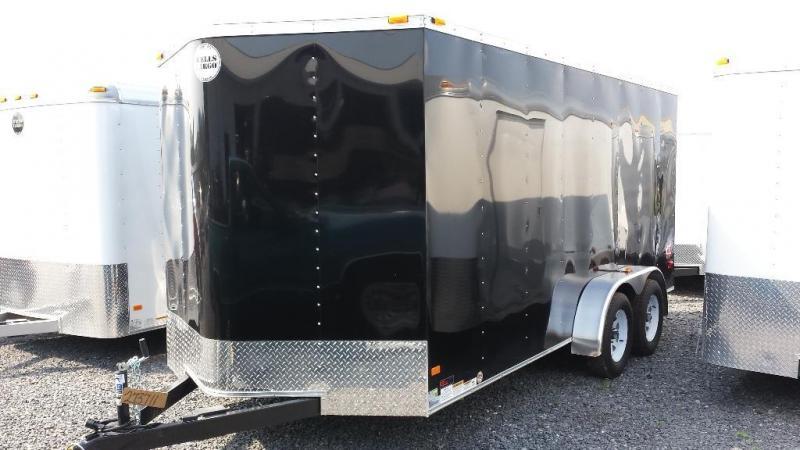 2015 Wells Cargo Fast Trac 7x16 Cargo / Enclosed Trailer
