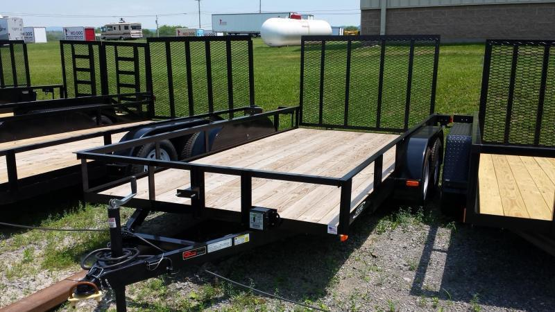 2019 Holmes 6-4x16 Open Side 7k Utility Trailer