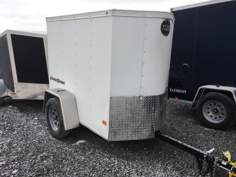 2017 Wells Cargo 4x6 Fast Trac Enclosed Cargo Trailer