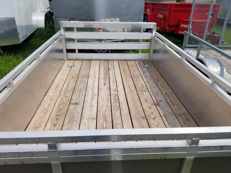 2015 Mission 5x8 solid side utility trailer