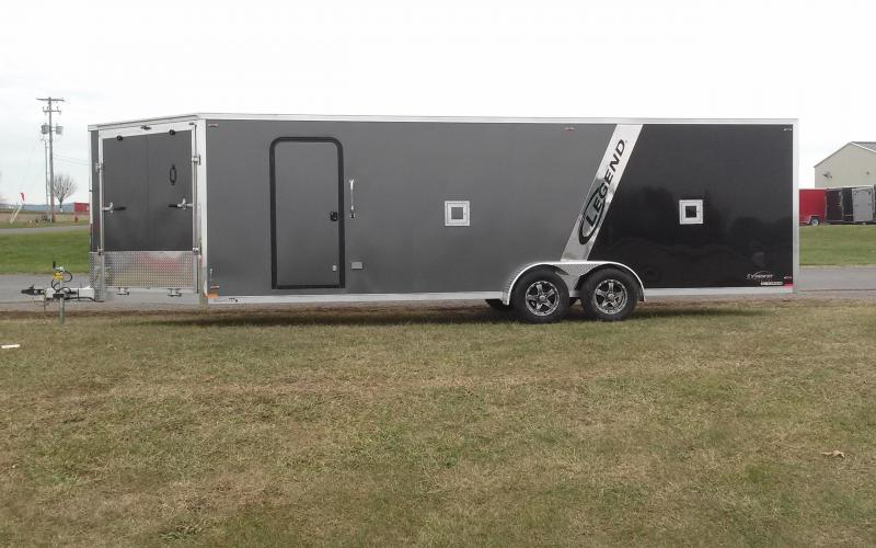 2018 Legend Manufacturing 7x29 Explorer Snow Snowmobile Trailer