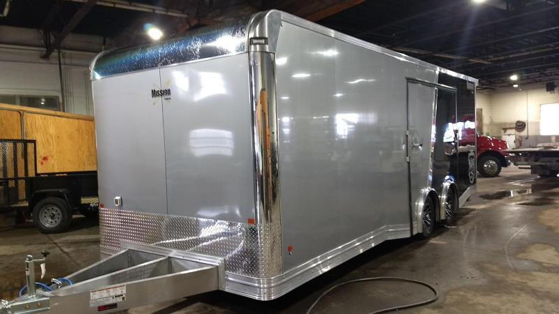 2019 Mission 8.5x24 Pinnacle Premium Car / Racing Trailer