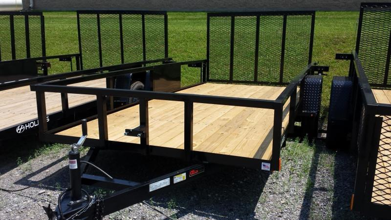 2018 Holmes 6-4x14 Commercial Rail Side Utility Trailer