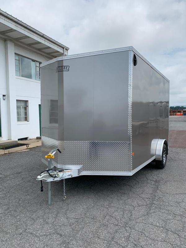 2019 Mission 7x12 EZ Hauler Enclosed Cargo Trailer