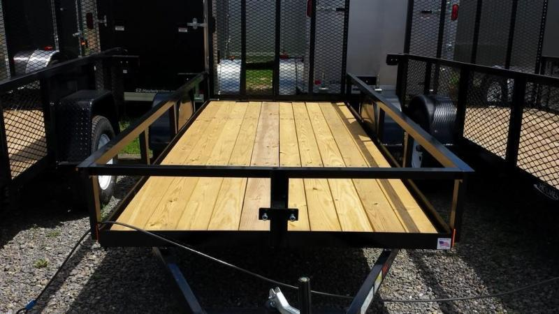 2018 Holmes 5x12 Open Side Rail Utility Trailer