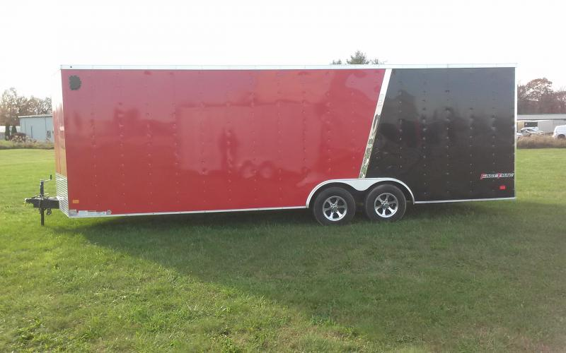 2017 Wells Cargo Fast Trac 8.5x24 10K Car/Racing Trailer