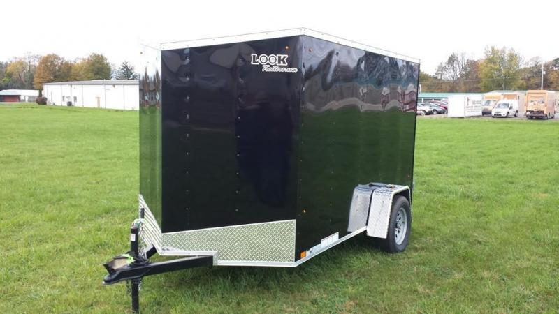 2017 Look Trailers 6x10 ST DLX Enclosed Cargo Trailer