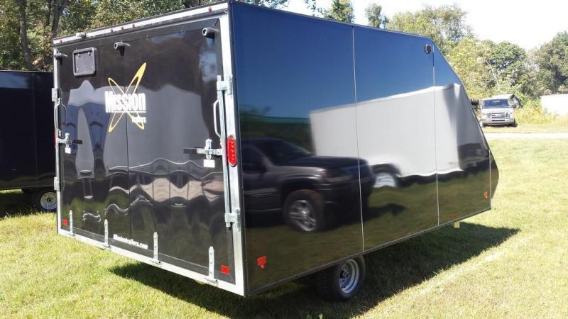 2017 Mission 12 Crossover Snowmobile Trailer