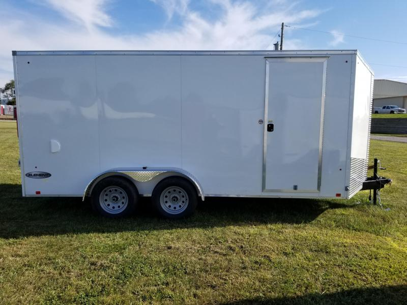 2018 Look Trailers 7x16 Element SE Enclosed Cargo Trailer