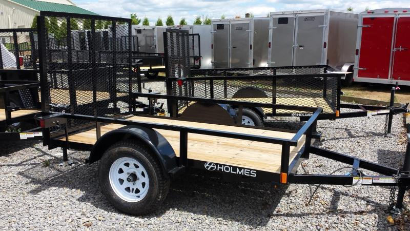 2015 Holmes residential 5x8 rail side 3.5k Utility Trailer -LED lights
