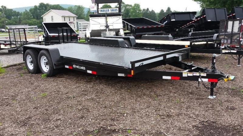 2015 Holmes 6-10x18 car hauler -steel deck -LED -10k
