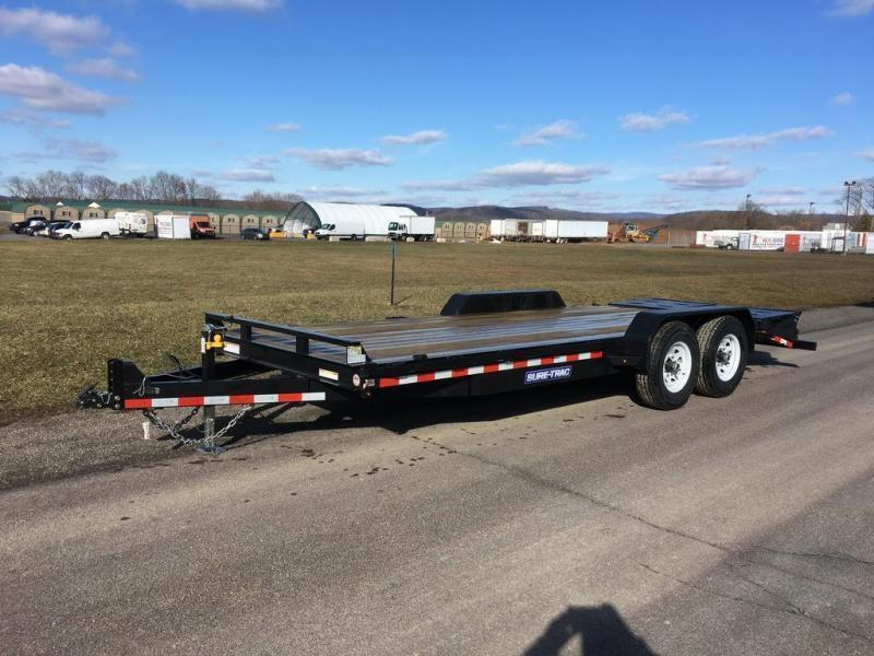 2019 Sure-Trac 7x20 Super Ramp Equipment Trailer