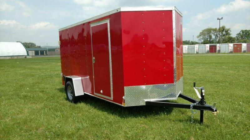 2018 Wells Cargo 300 Series 6x12 Enclosed Cargo Trailer
