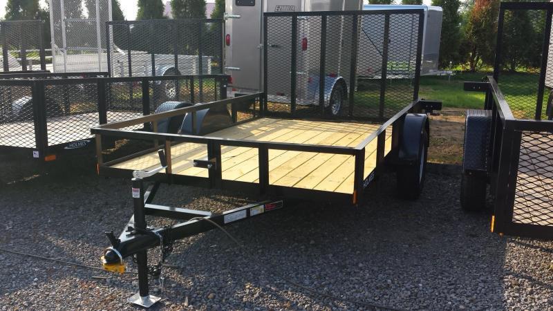 2014 Holmes res 6-4x10 rail 3.5k Utility Trailer