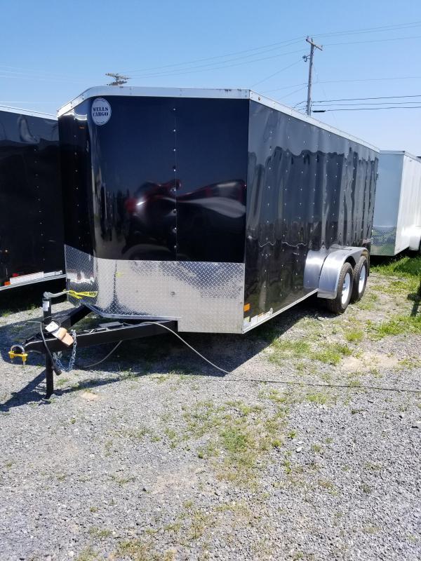 2017 Wells Cargo Fast Trac 7x16 Enclosed Cargo Trailer