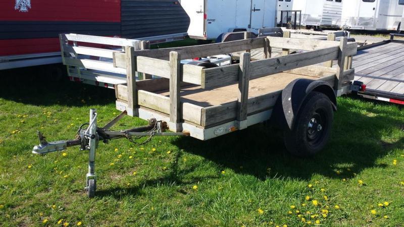 4X8 Tilt Deck Utility Trailer
