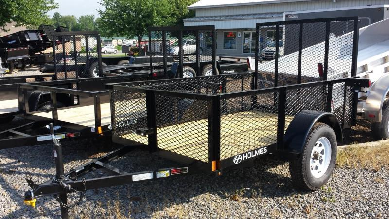 2014 Holmes res 5x8 mesh sides 3.5k Utility Trailer