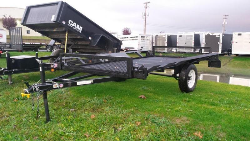 2014 Carry-On 5x10 side load ATV Trailer