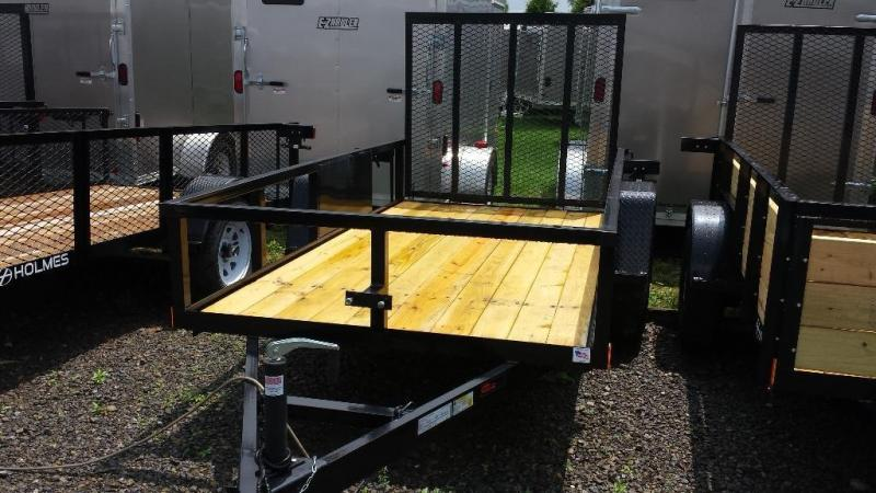 2016 Holmes 5x10 Commercial Open Side Utility Trailer