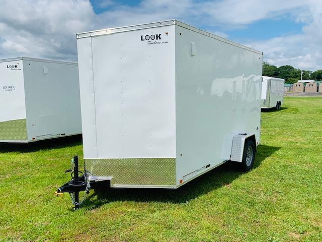 2020 Look Trailers 7x12 3.5k Enclosed Cargo Trailer