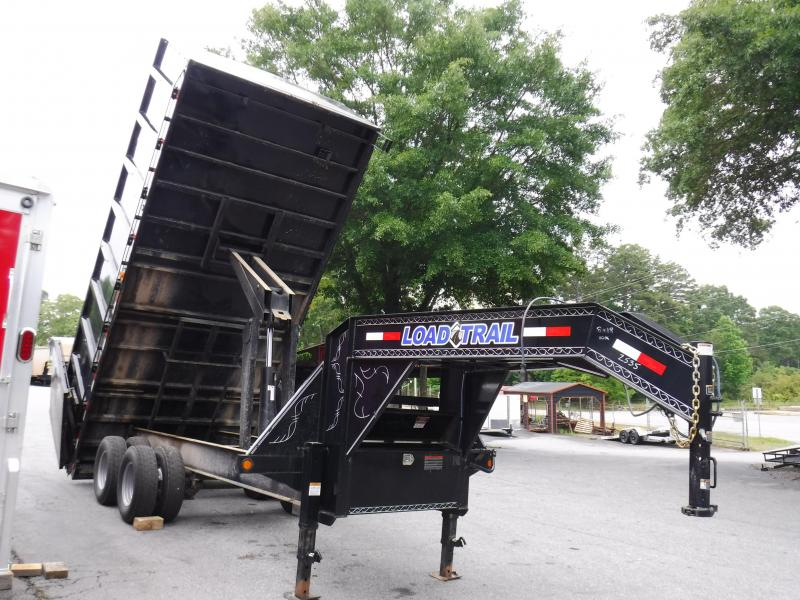 2017 Load Trail LT8X18 Dump Trailer
